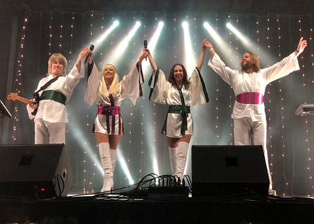 ABBA's Angels ABBA Band Wiltshire