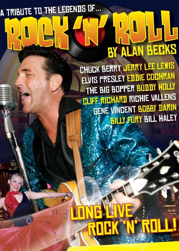 Legends of Rock n Roll Show by Alan Becks