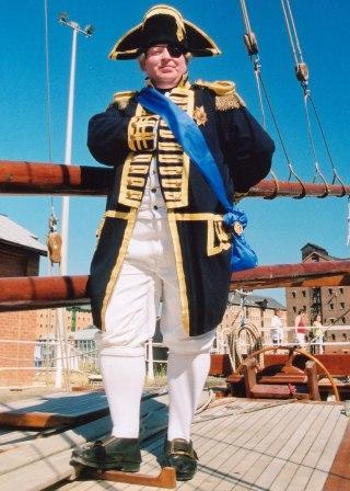 Admiral Nelson by Alan Myatt