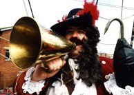 Captain Hook Character from Peter Pan by Alan Myatt Gloucester