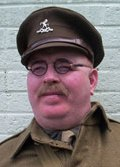 Captian Mannering from Dad's Army by Alan Myatt