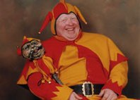 Court Jester - Historical Figure by Alan Myatt Gloucester