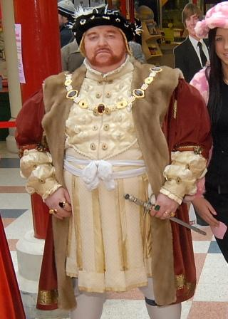 King Henry VIII Historical Figure by Alan Myatt Gloucester