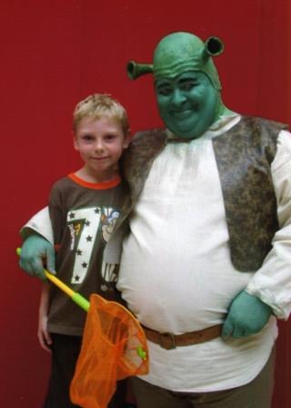 Shrek Walkabout Character by Alan Myatt Gloucester