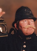 Victorian Policeman by Alan Myatt Gloucester