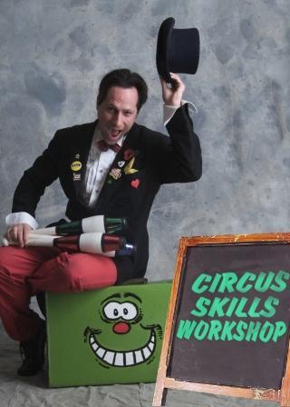 Circus Workshops by Allin & Pamela Kempthorne