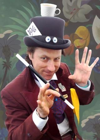 Mad Hatter Magician with Allin Kempthorne Magician