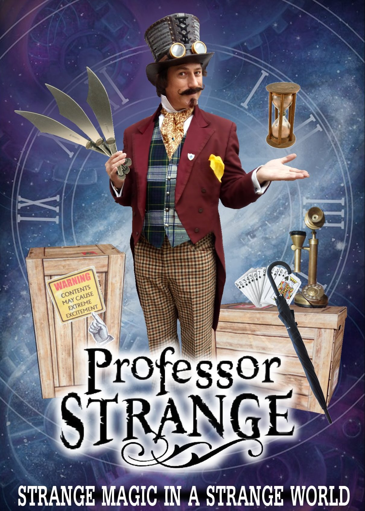 Professor Strange by Allin Kempthorne Magician / Juggler South East England
