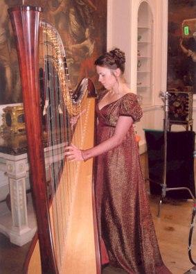 Anita Aslin Harpist Teesside