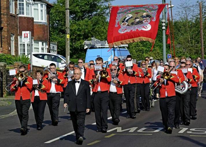 Billingham Brass Band Teesside 2017