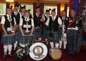 Bishop Auckland District Pipes & Drums Co Durham