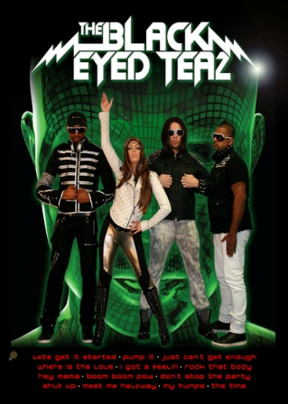 Black Eyed Teaz are the only Black Eyed Peas Tribute band in the UK