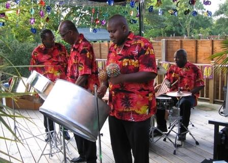 Brent Holder Steel Band