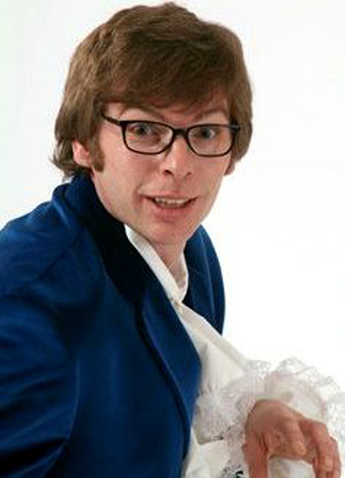 Brian Allanson is Austin Powers Lookalike based in North East England and available through A.R.C. Entertainments
