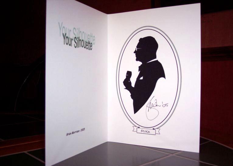 Brian Morrison Silhouette artist Ayrshire