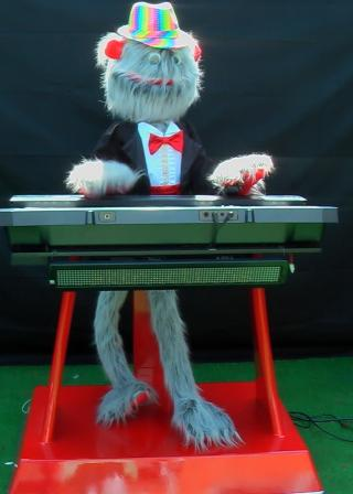 Cool Stanley the Hairy Keyboard Player by Animated Magical Moments