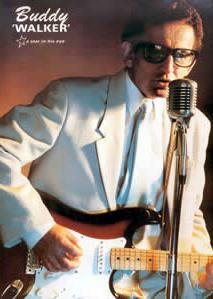 Buddy Holly tribute Buddy Walker
