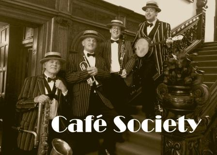 Cafe Society 1920s Jazz Quartet Manchester