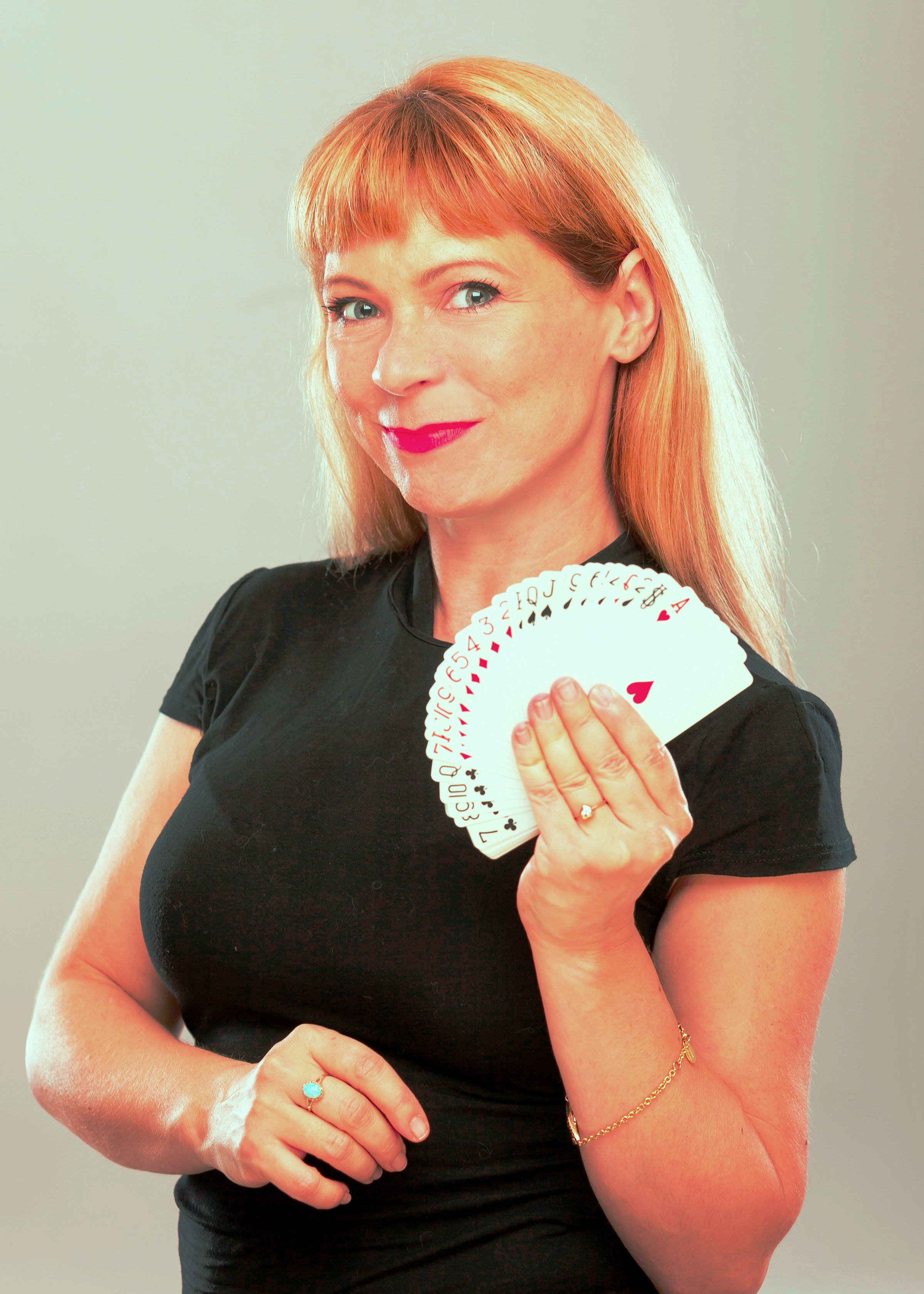 Careena Fenton No. 1 UK's female magician from West Midlands