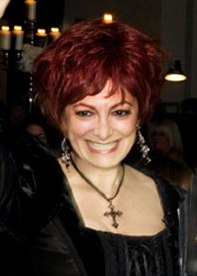 Sharon Osbourne look-a-like Caroline Bernstein
