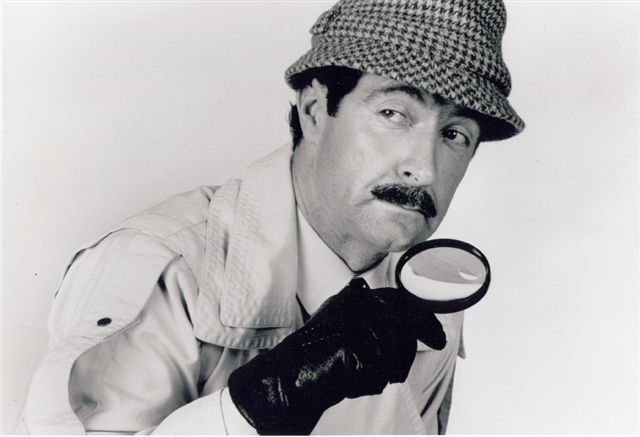 Inspector Clouseau of Pink Panther look alike Charles Haslet