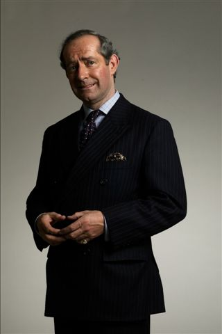 Charles Haslet as Prince Charles, Prince Charles lookalike, look alike, look-a-like, entertainer surrey, entertainment surry