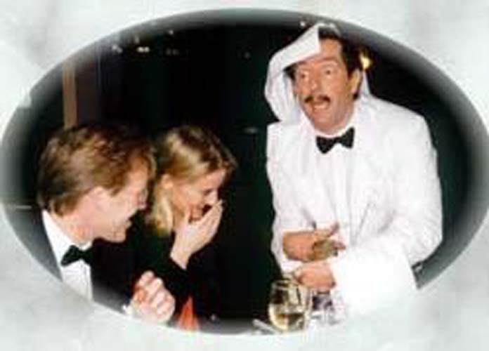 Manuel of Fawlty Towers look alike Charles Haslet