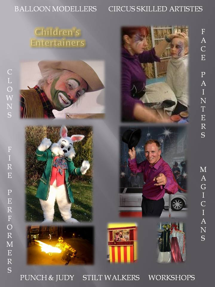 Children's Entertainers for hire