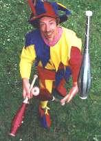 Chris Ehrenzeller as Juggling Jester Kris Katchit Nottinghamshire