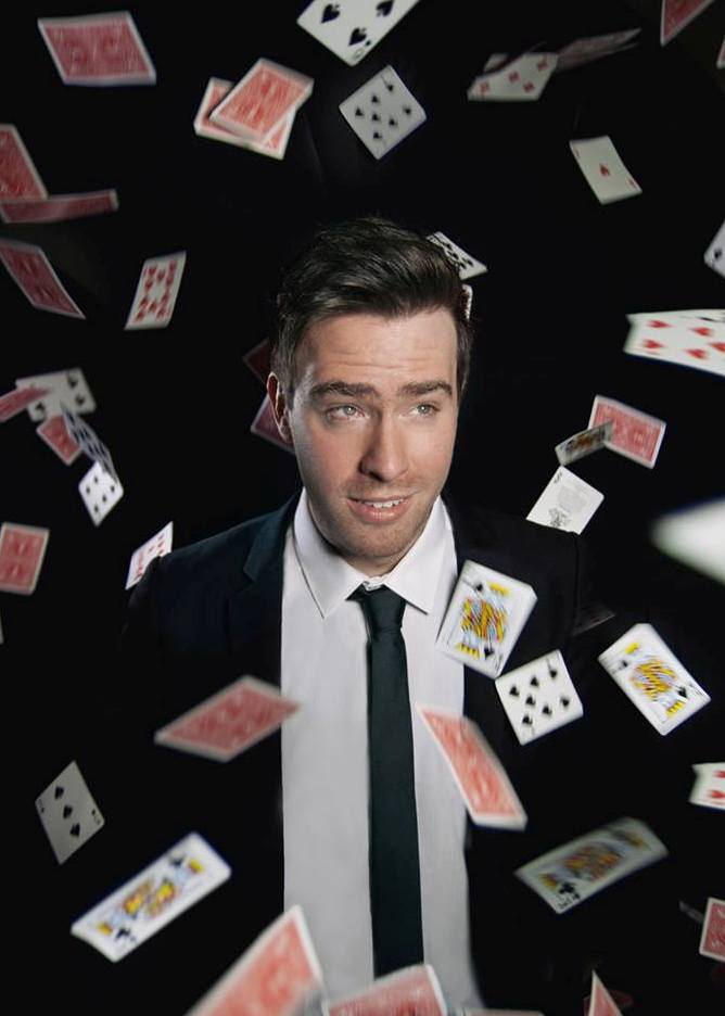 Chris Fleming Magician Mentalist and Mindreader London