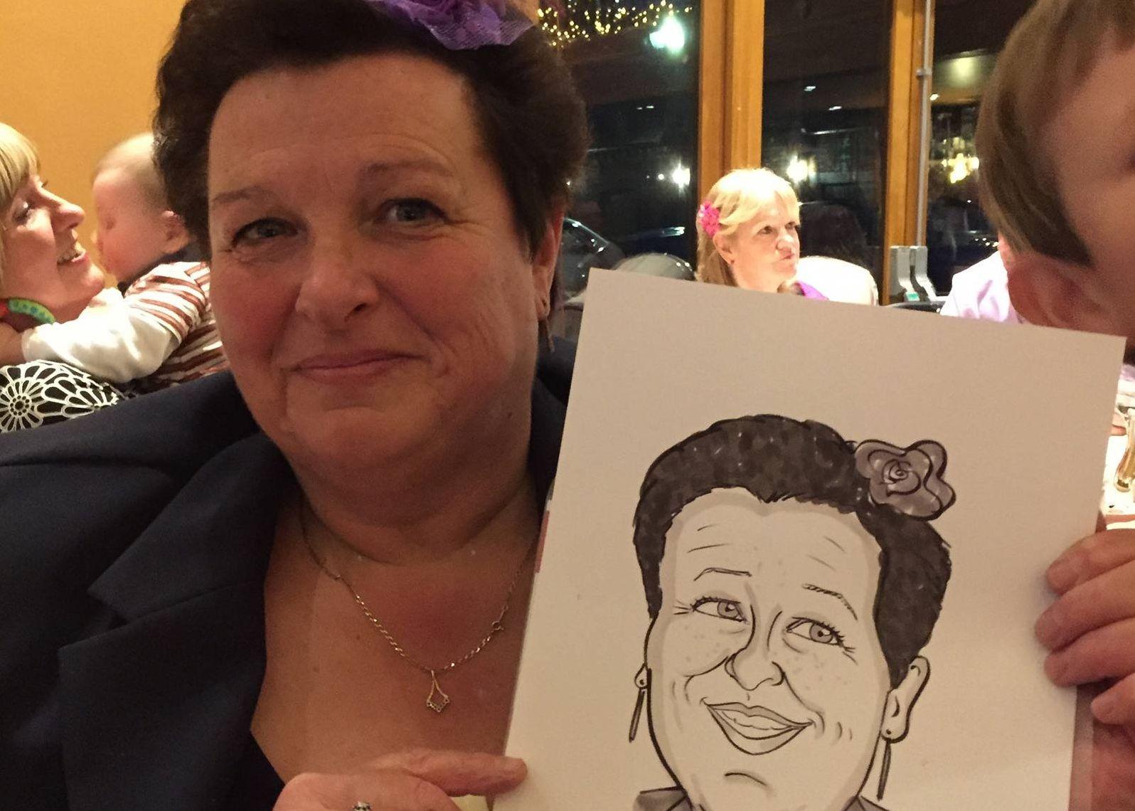 Chris Ryder Caricaturist West Midlands