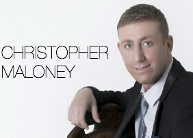 Male vocalist Christopher Maloney X Factor Finalist 2012