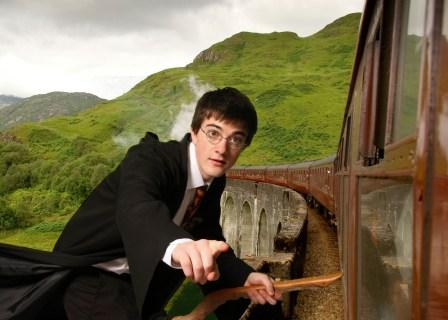 Harry as Harry Potter of the HP films is available through A.R.C. Entertainments