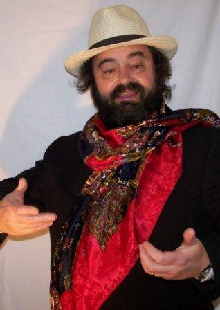 Colin Miller as Pavarotti, Pavarotti lookalike