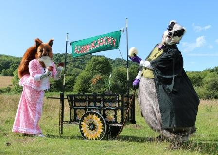 Acorn Academy with Squirrel & Badget by Creature Encounter Puppetry & Animatronics West Midlands