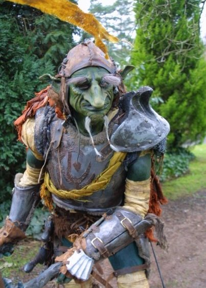 Medieval Goblins by Creature Encounters based in the Midlands and is now available through A.R.C. Entertainments