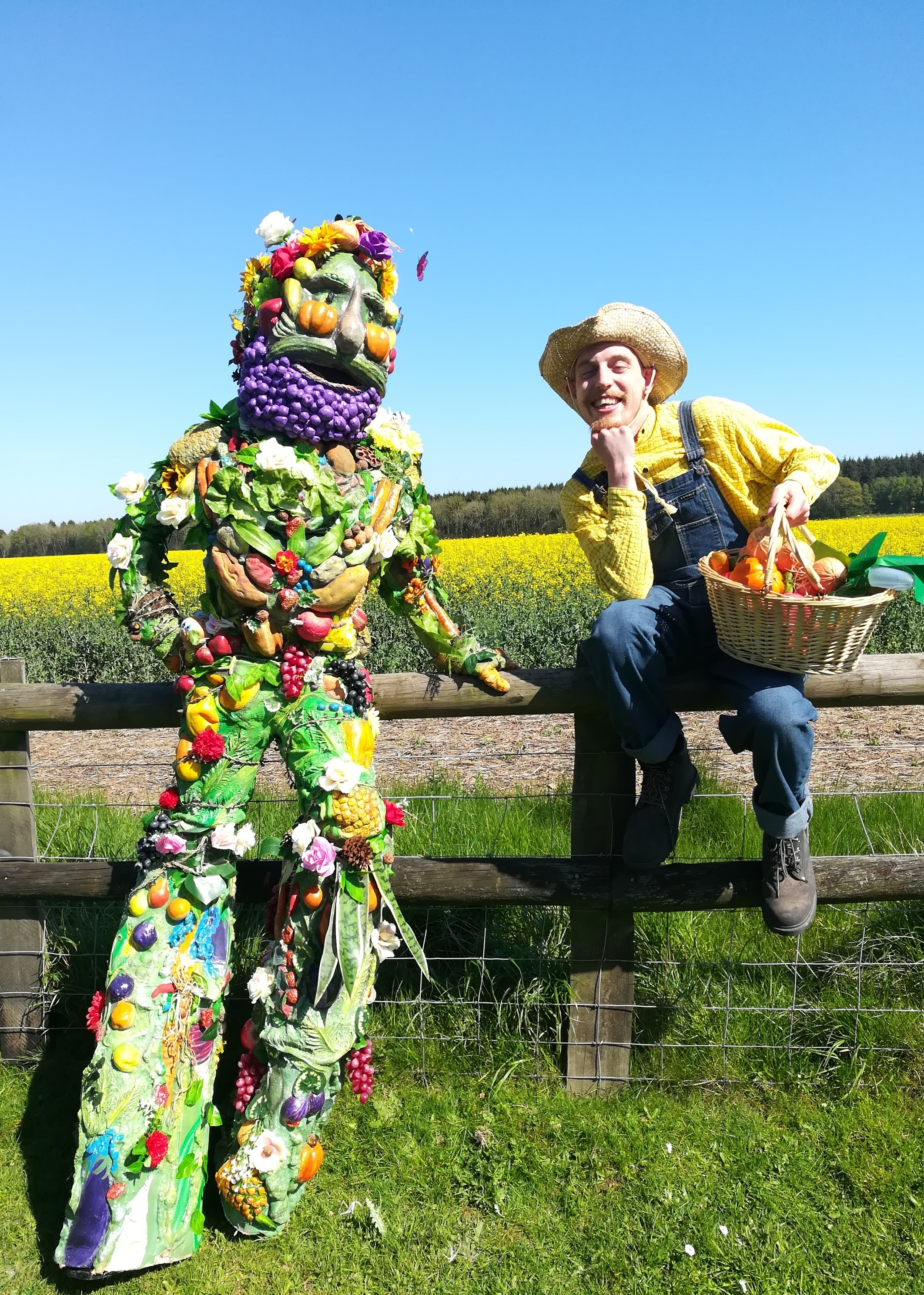 Froojamaflip & Fred the Gardener by Curious Creations Lincolnshire