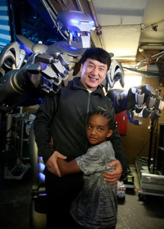 Titan with Jackie Chan & Jaden Smith