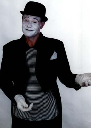 Mime Artiste by Rob Clapperton