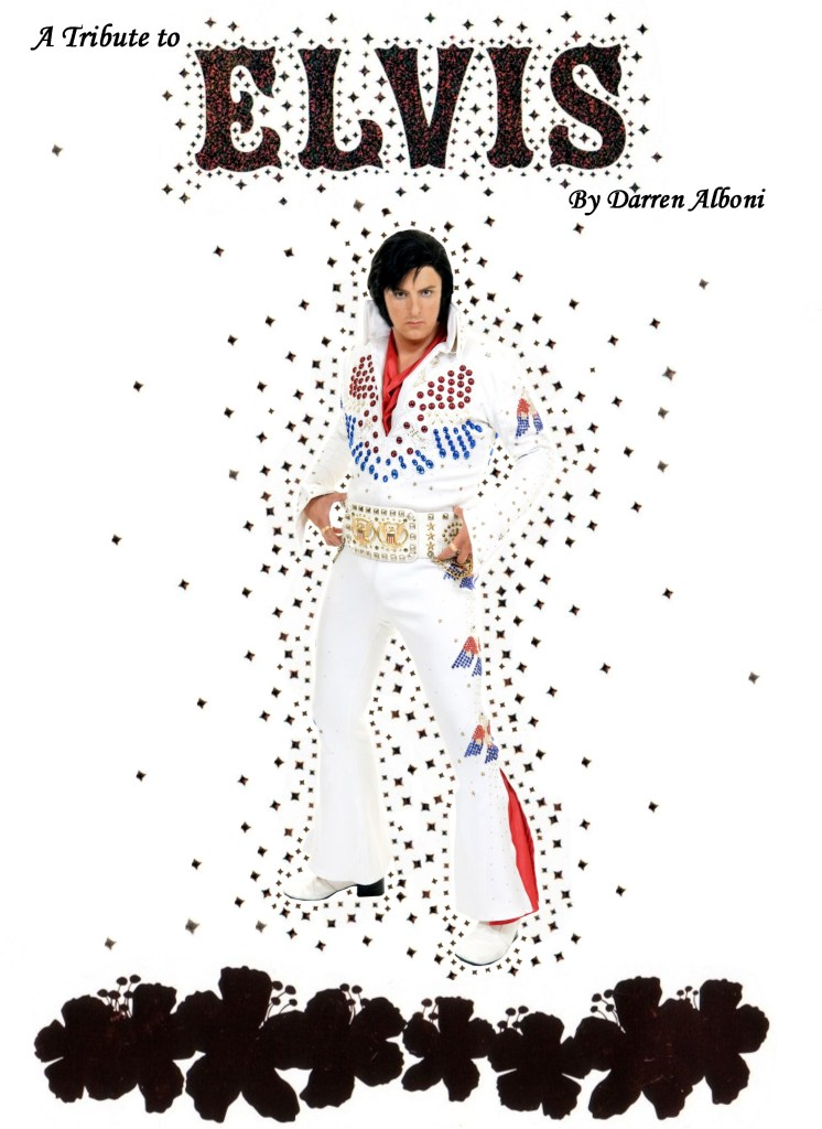 Darren Alboni as Elvis Presley
