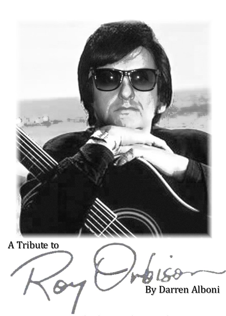 Darren Alboni as Roy Orbison London