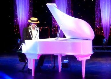 Dean Torkington as Elton John Tribute