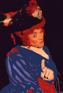 Panto Dame Dame Dilly by Bo the Clown Derek Carpenter