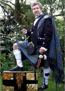 Derek Millmoor Solo Scottish Piper Co Durham