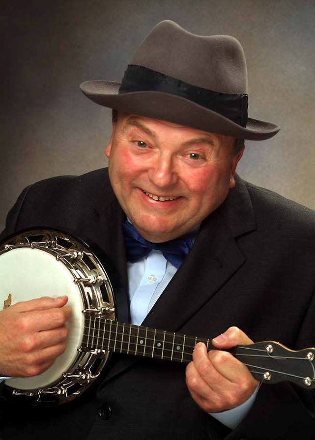 Derek Herbert as George Formby Tribute