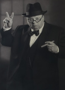 Derek Herbert as Winston Churchill Lookalike Macnhester