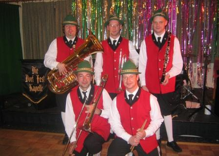 Die Dorf Fest Kapell Oompah Band based in Kent is avaiable through A.R.C. Entertainments