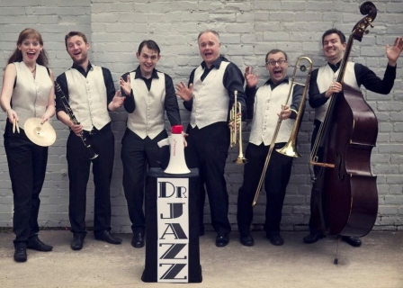 Dr Jazz 6pce roaring 20s band