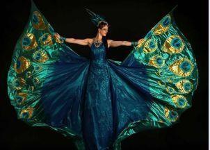 Peacock on stilt by The Dream Tink