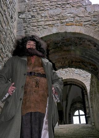 Hagrid lookalike of Harry Potter Edmond Wells